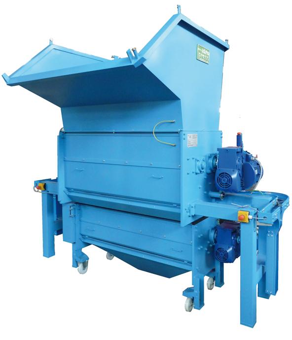 тип D производительность 4,5 м³/ч, размер сечения сжатого материала 135 x 250 мм